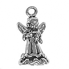 Angel with Violin Charm